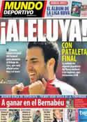 Portada Mundo Deportivo del 13 de Agosto de 2011