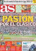 Portada diario AS del 14 de Agosto de 2011