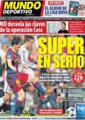 Portada Mundo Deportivo del 14 de Agosto de 2011