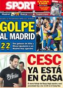 Portada diario Sport del 15 de Agosto de 2011