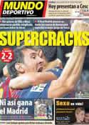 Portada Mundo Deportivo del 15 de Agosto de 2011