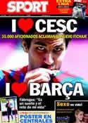 Portada diario Sport del 16 de Agosto de 2011