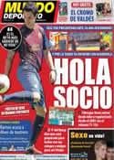 Portada Mundo Deportivo del 16 de Agosto de 2011