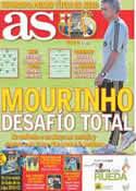 Portada diario AS del 17 de Agosto de 2011
