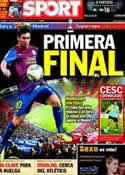 Portada diario Sport del 17 de Agosto de 2011