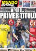 Portada Mundo Deportivo del 17 de Agosto de 2011