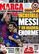 Portada diario Marca del 18 de Agosto de 2011