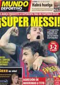 Portada Mundo Deportivo del 18 de Agosto de 2011