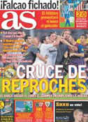 Portada diario AS del 19 de Agosto de 2011