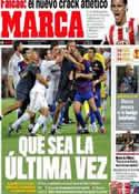 Portada diario Marca del 19 de Agosto de 2011