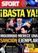 Portada diario Sport del 19 de Agosto de 2011