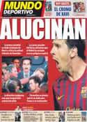 Portada Mundo Deportivo del 19 de Agosto de 2011