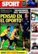 Portada diario Sport del 21 de Agosto de 2011