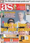 Portada diario AS del 22 de Agosto de 2011