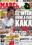 Portada diario Marca del 22 de Agosto de 2011