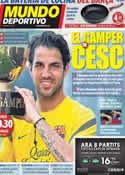 Portada Mundo Deportivo del 22 de Agosto de 2011