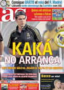 Portada diario AS del 23 de Agosto de 2011