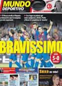 Portada Mundo Deportivo del 23 de Agosto de 2011