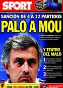 Portada diario Sport del 24 de Agosto de 2011