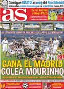 Portada diario AS del 25 de Agosto de 2011