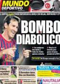Portada Mundo Deportivo del 25 de Agosto de 2011