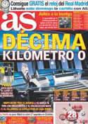 Portada diario AS del 26 de Agosto de 2011