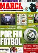 Portada diario Marca del 26 de Agosto de 2011
