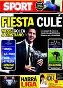 Portada diario Sport del 26 de Agosto de 2011
