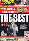 Portada Mundo Deportivo del 26 de Agosto de 2011