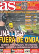 Portada diario AS del 27 de Agosto de 2011