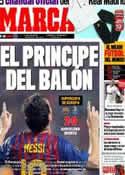 Portada diario Marca del 27 de Agosto de 2011