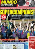 Portada Mundo Deportivo del 27 de Agosto de 2011