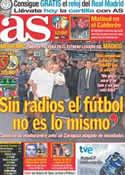 Portada diario AS del 28 de Agosto de 2011