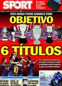 Portada diario Sport del 28 de Agosto de 2011