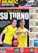 Portada Mundo Deportivo del 28 de Agosto de 2011