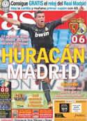 Portada diario AS del 29 de Agosto de 2011