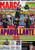 Portada diario Marca del 29 de Agosto de 2011