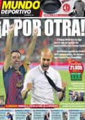 Portada Mundo Deportivo del 29 de Agosto de 2011