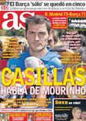Portada diario AS del 30 de Agosto de 2011