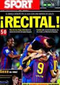 Portada diario Sport del 30 de Agosto de 2011