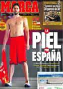 Portada diario Marca del 31 de Agosto de 2011