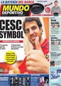 Portada Mundo Deportivo del 1 de Septiembre de 2011