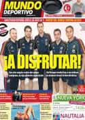 Portada Mundo Deportivo del 2 de Septiembre de 2011