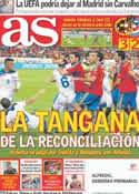 Portada diario AS del 3 de Septiembre de 2011