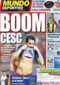 Portada Mundo Deportivo del 4 de Septiembre de 2011