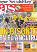 Portada diario AS del 5 de Septiembre de 2011