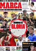 Portada diario Marca del 5 de Septiembre de 2011
