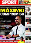 Portada diario Sport del 5 de Septiembre de 2011