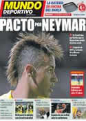 Portada Mundo Deportivo del 5 de Septiembre de 2011