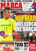 Portada diario Marca del 6 de Septiembre de 2011
